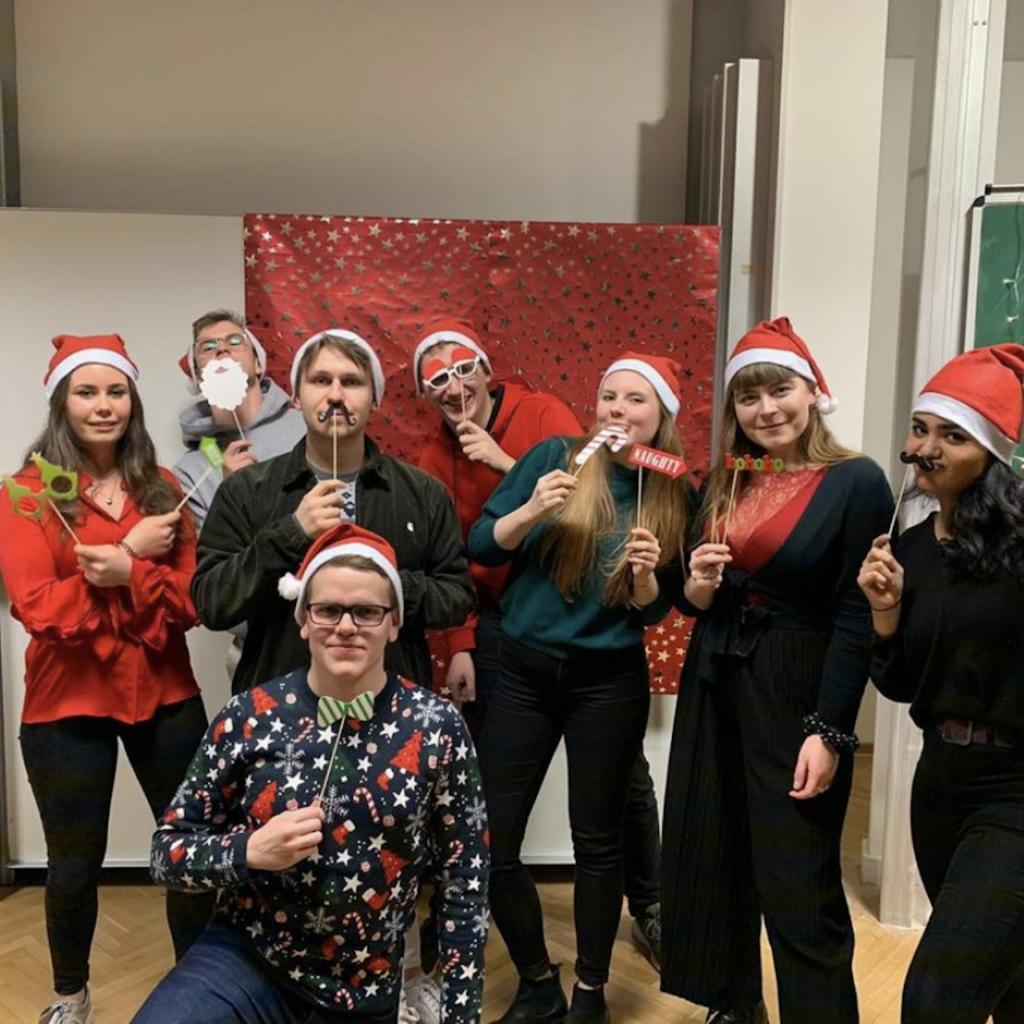 SIDUM Weihnachtsfeier 2019 Gruppenfoto